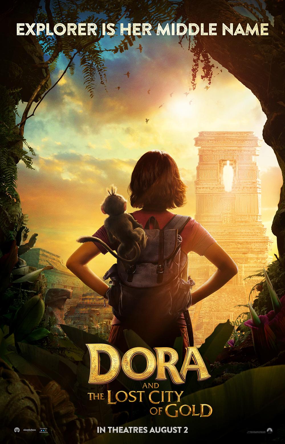 Tonton Trailer Pertama Misteri Pengembaraan Dora Dalam 'Dora And The Lost City Of Gold'