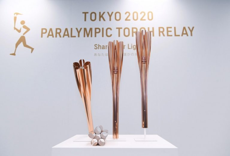 Obor Bunga Sakura Jepun Sukan Olimpik 2020 2