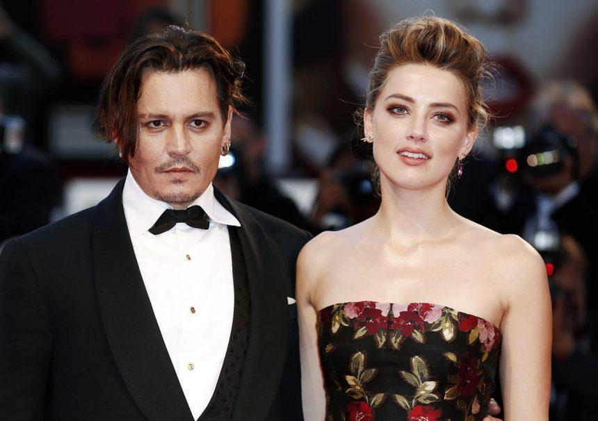 Johnny Depp saman Amber Heard