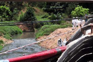 pencemaran Sungai Kim Kim