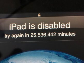 Unlock iPad