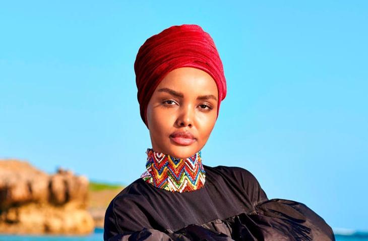 Halima Aden Model Burkini