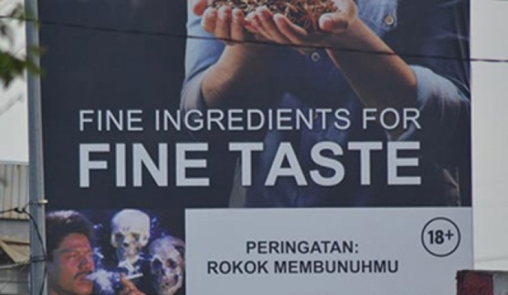 Indonesia Haramkan Iklan ROkok 1