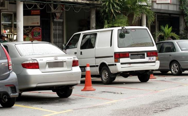 Cop Parkir Salah 3