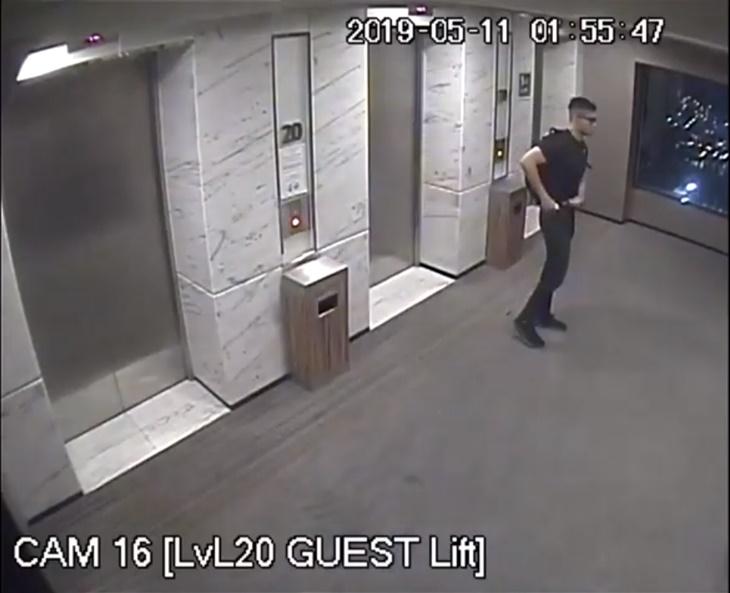 Rakaman CCTV Haziq Di Hotel
