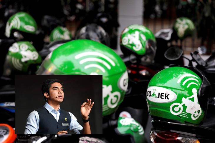 Syed Saddiq Go-Jek Mat Motor