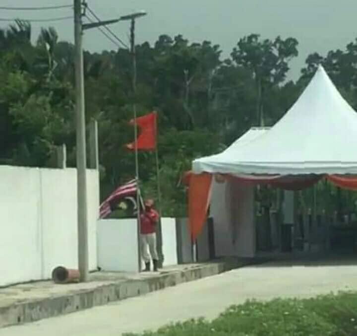 Bendera Jalur Gemilang Terbalik 1