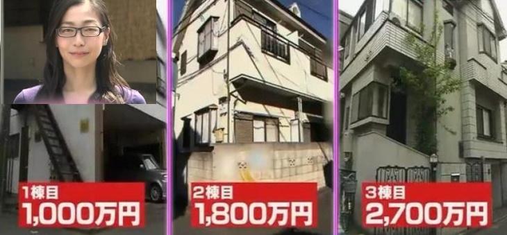 Wanita Jepun Usia Muda Miliki Rumah 4