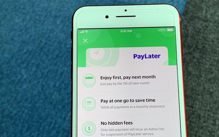 Aplikasi Grab payLater 2