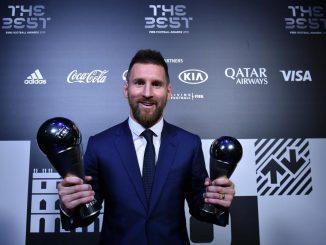 Lionel Messi Pemain Lelaki Terbaik 1