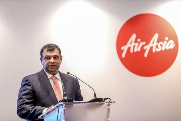 Tony Fernandes letak Jawatan 1