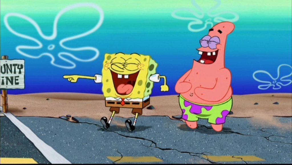 SpongeBob Ganas Indonesia