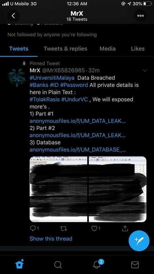 Data Laman Web UM Digodam