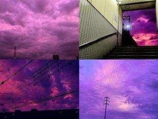 Fenomena Langit Ungu 4