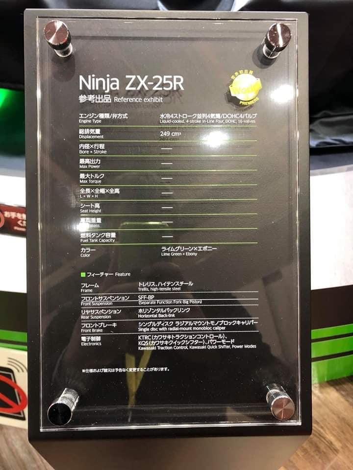 Kawasaki Ninja ZX-25R 1