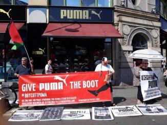Kempen Boikot Puma Taja Persatuan Bola Sepak Israel