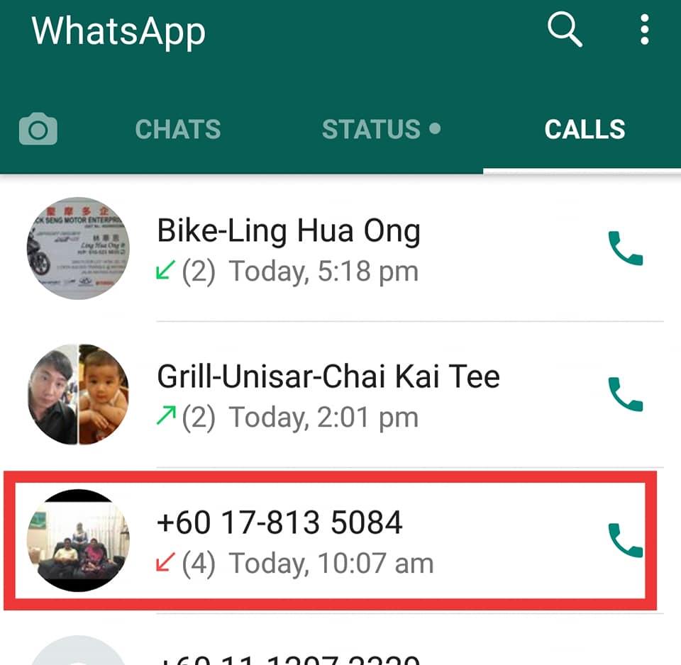 Scammer Guna whatsApp 3