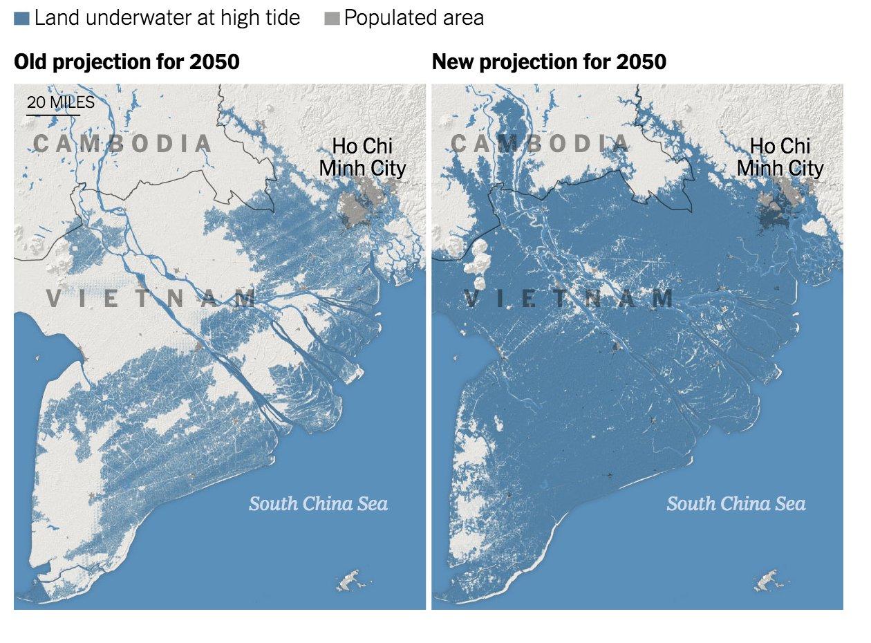 1 Bandar Utama Malaysia Tenggelam Menjelang 2050