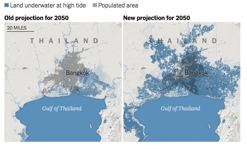 2 Bandar Utama Malaysia Tenggelam Menjelang 2050