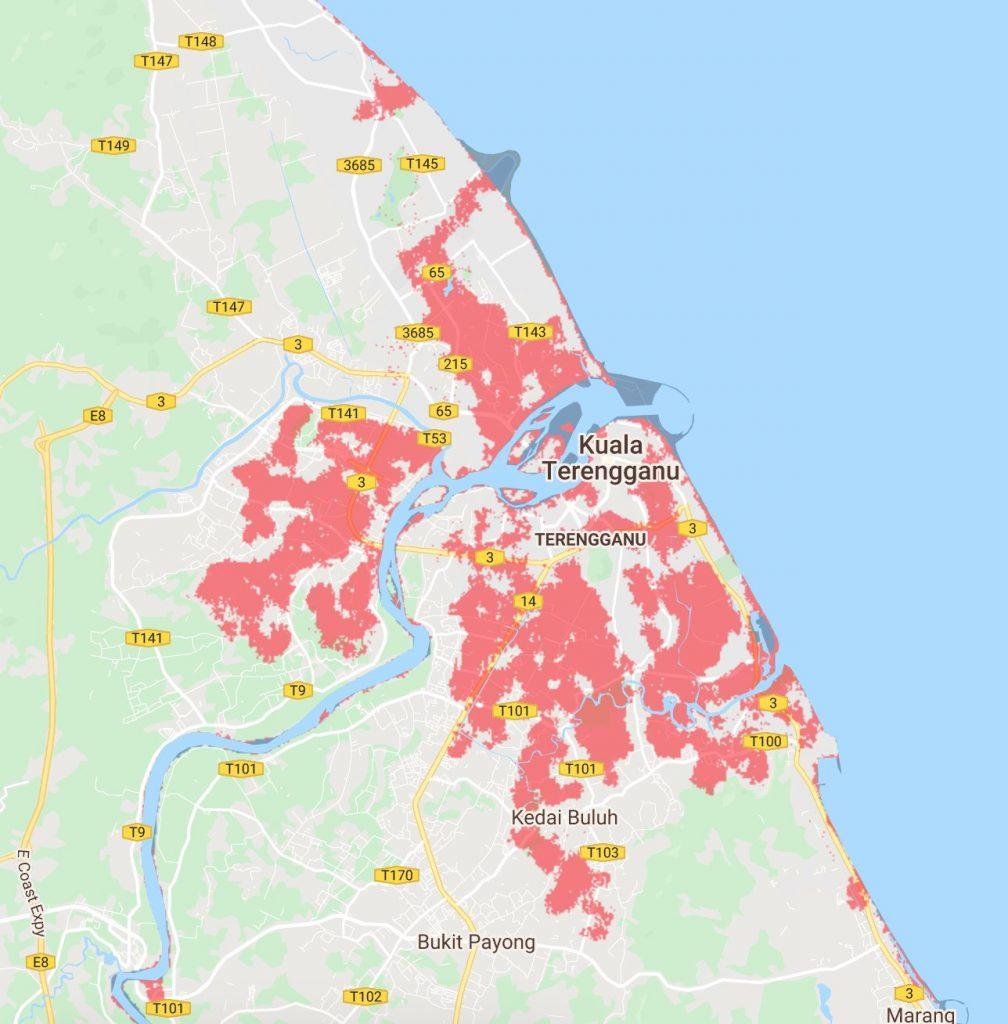 6 Bandar Utama Malaysia Tenggelam Menjelang 2050