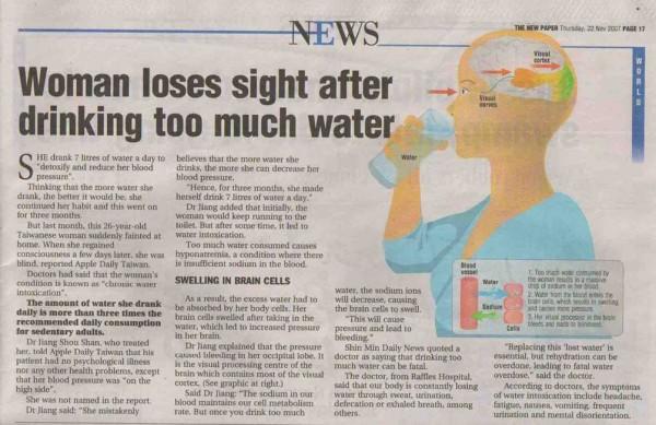 Bengkak Otak Minum Air Berlebihan 2