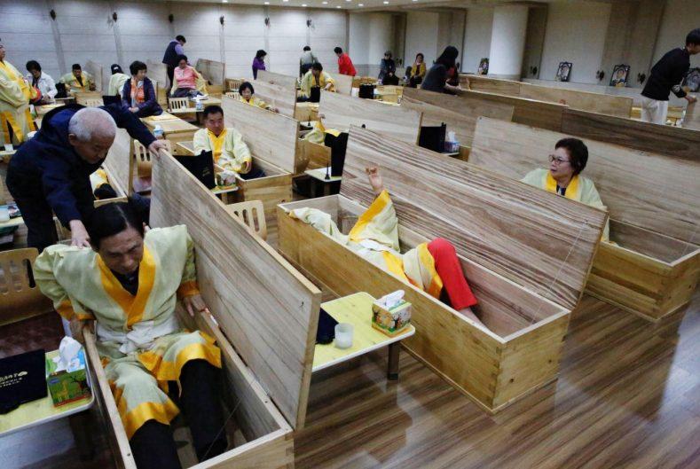 Korea Selatan Pengebumian Mati