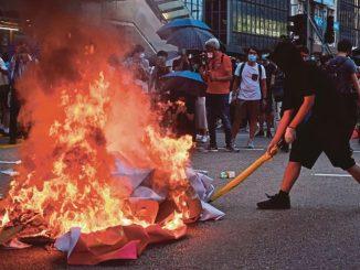 Krisis Pergolakan Di Hong Kong