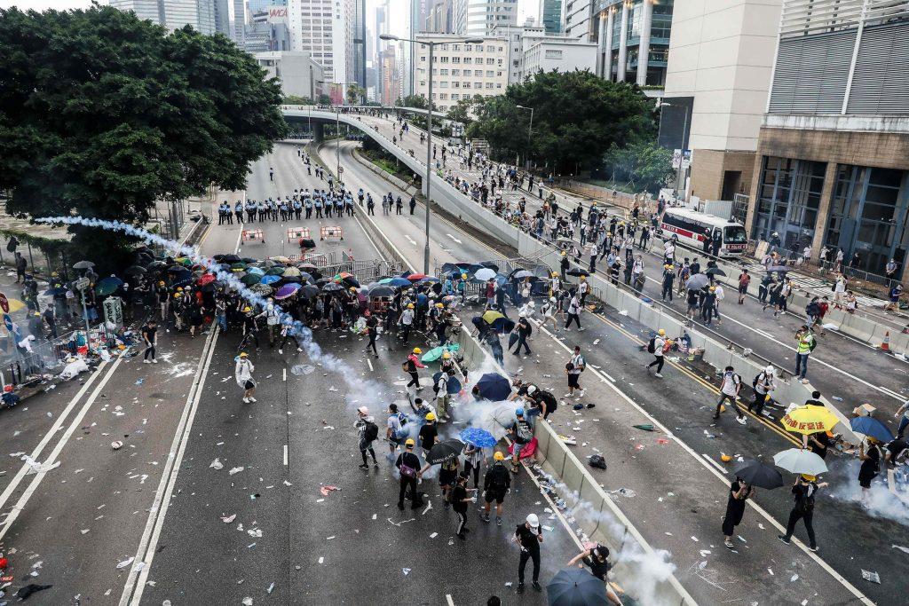 Krisi Pergolakan Hong Kong