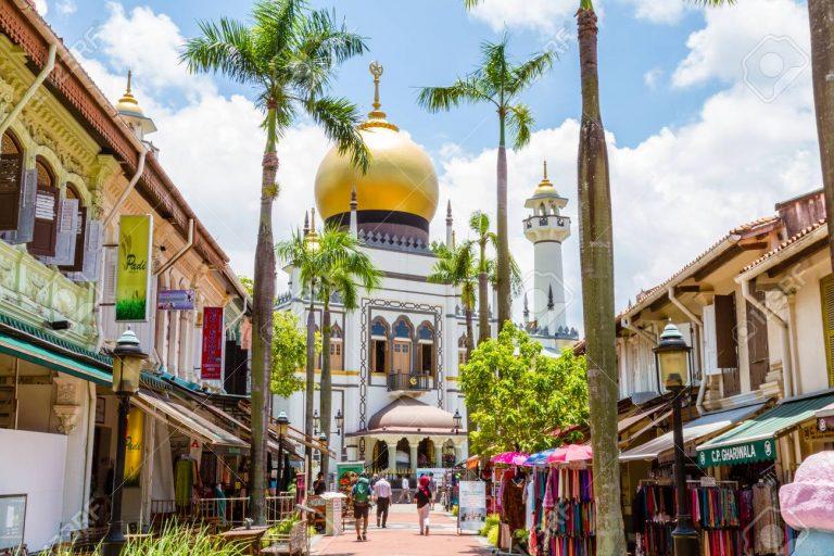 masjid singapura gelandangan