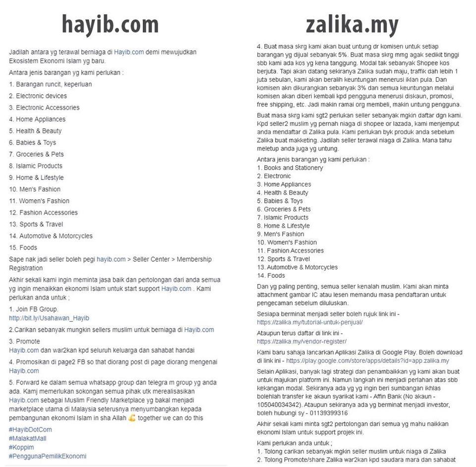 Pemilik AFlix Plagiat Idea Dan Penulisan Pemilik Hayib 3