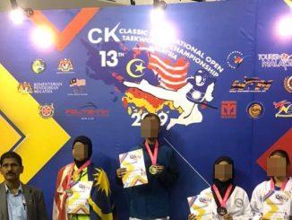 Persatuan teakwondo Guna Simbol Lima Bintang