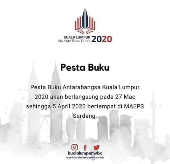 Anjur Pbakl Di Maeps Seakan Tidak Menyokong Penobatan Kl Sebagai Kota Buku Dunia 2020