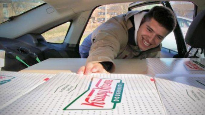 Pelajar Jual Donut Krispy Kreme