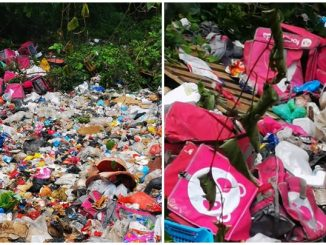 Beg Foodpanda Sampah