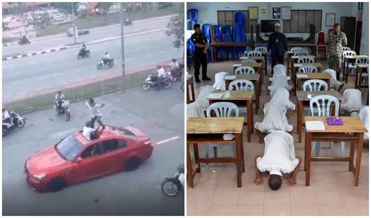Banduan Calon SPM Sujud Syukur