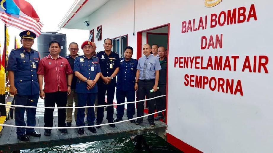 Balai Bomba Pertama Atas Air Di Malaysia