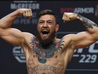 McGregor Kembali Beraksi
