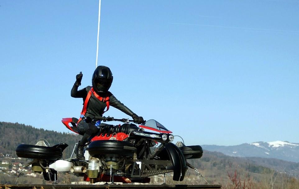 Motosikal Terbang Lazareth 3