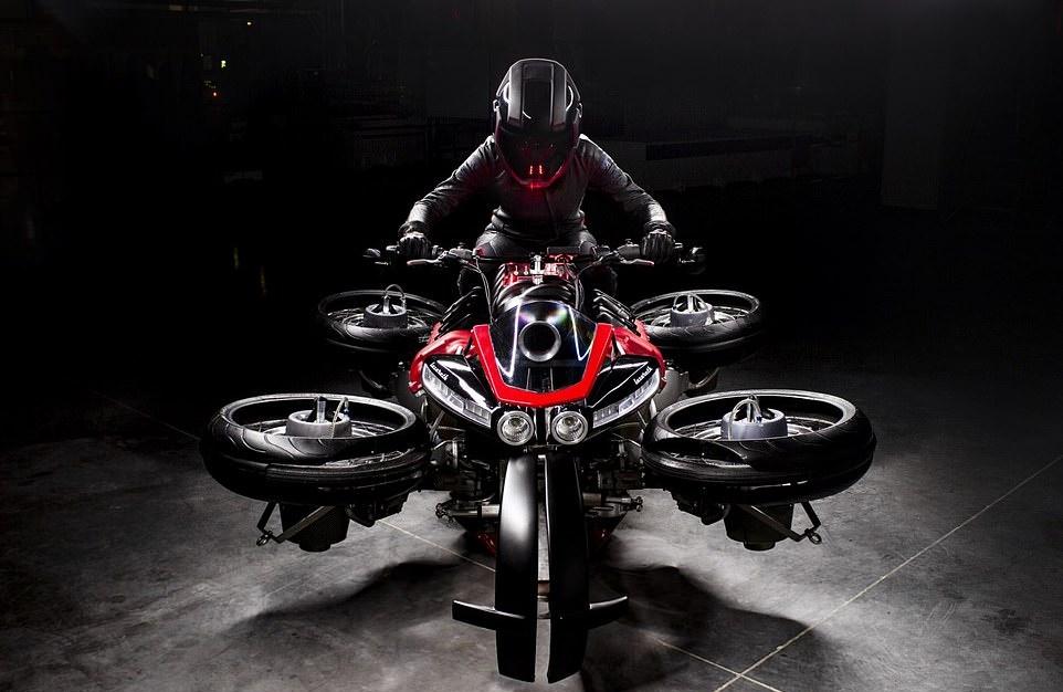 Motosikal Terbang Lazareth 4
