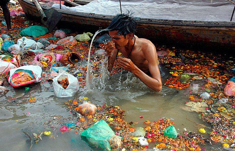 Sistem Pengurusan Sampah India Mundur
