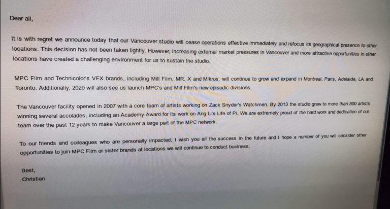 Studio MPC tutup Operasi