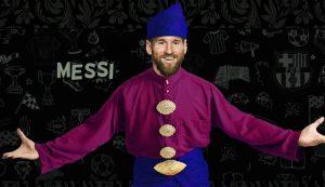 Messi Berdikir Barat