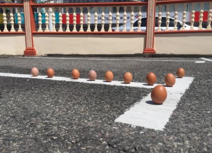 Telur Berdiri Sempena Gerhana Mitos