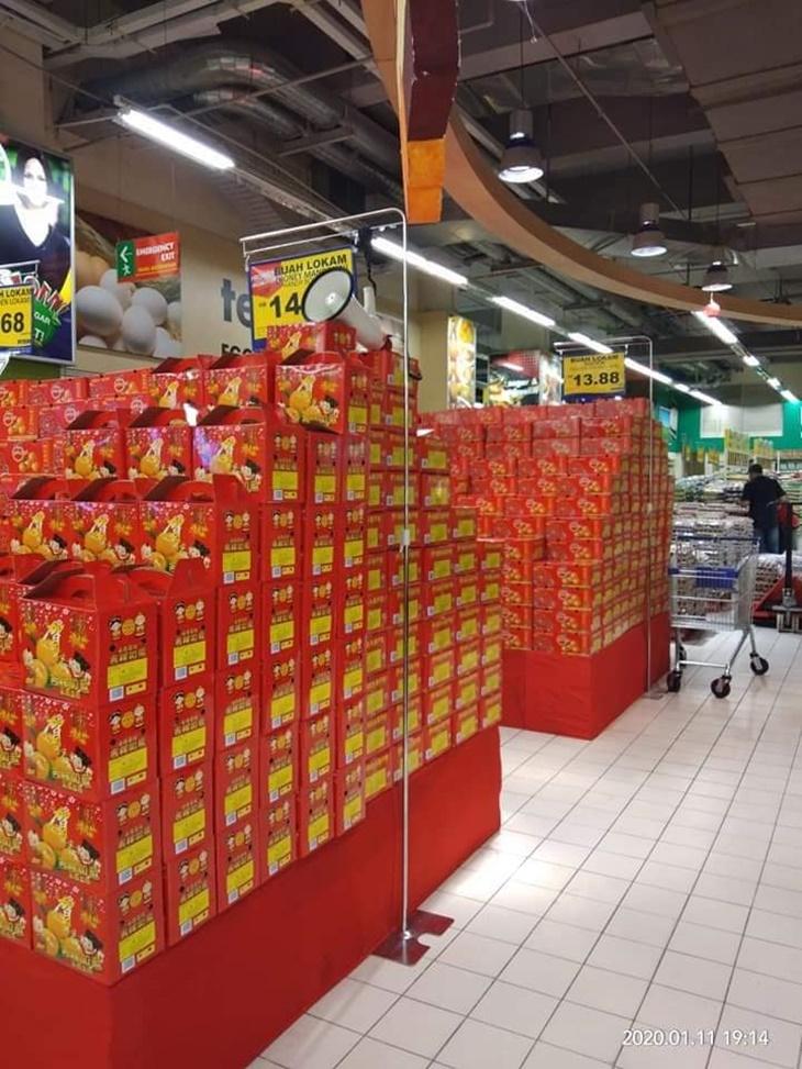 Limau Mandarin Tak Terjual Kempen BMF