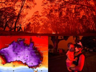 Langit Australia Bertukar Merah 9