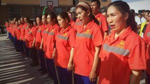 Wanita Uighur Dipaksa Jadi Pekerja Buruh