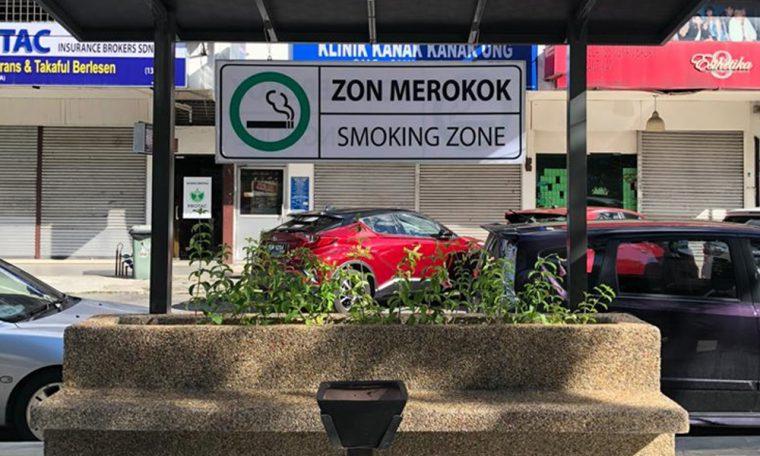 Doktor Kritik Zuraida Bina Kawasan Perokok
