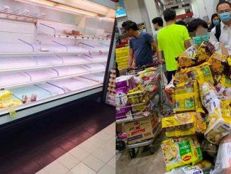 Isytihar Amaran Koronavirus Pasar Raya Singapura 10