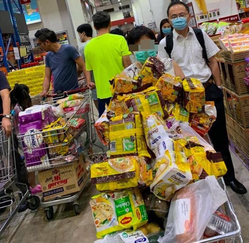 Koronavirus Pasar Raya Singapura 3