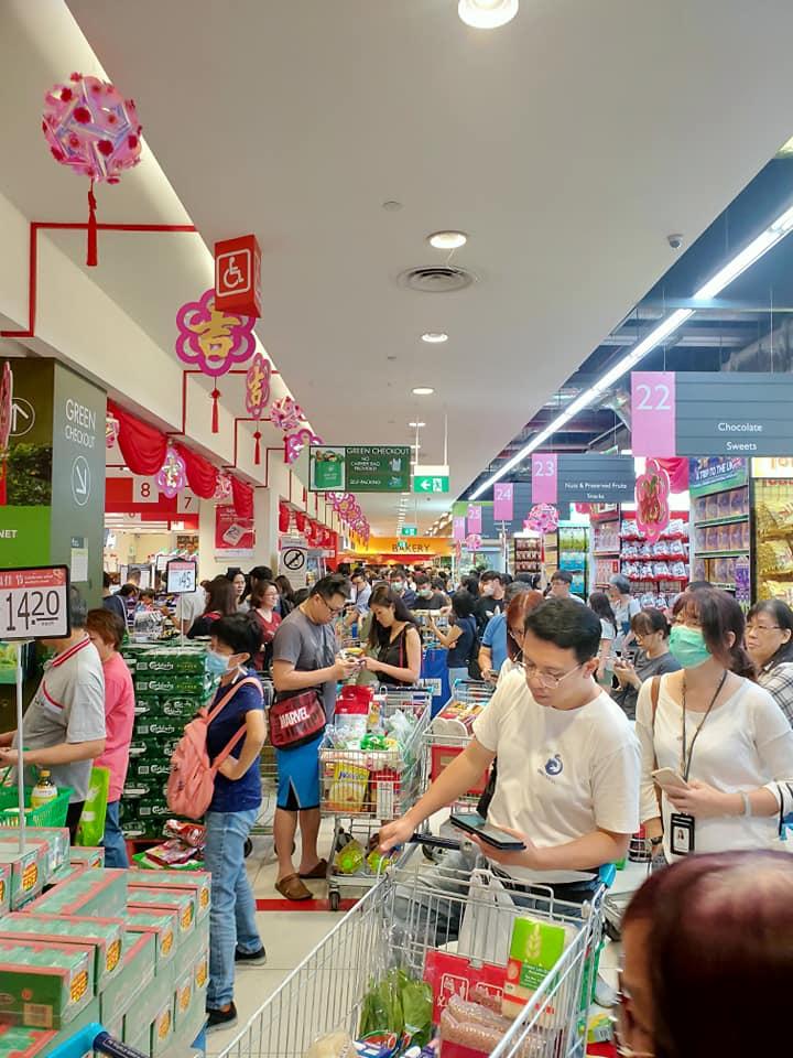 Koronavirus Pasar Raya Singapura 4